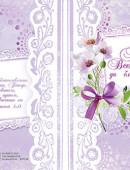 """""""Бог Всемогущий да благословит тебя!"""". Открытка большая с разворотом, в конверте"""